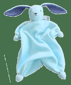 Peppa Schmusetuch Tino - Blau/Lila
