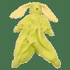 Peppa Schmusetuch Tino - Grasgrün/Lime | Stickkreation
