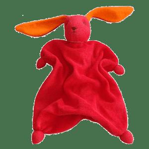 Peppa Schmusetuch Tino - Rot/Orange